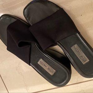 Steve Madden vintage black platform sandals